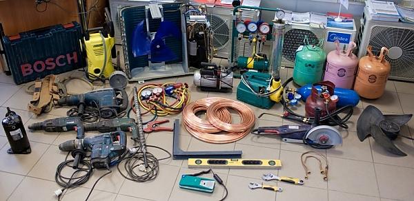 Инструменты для установки кондиционеров
