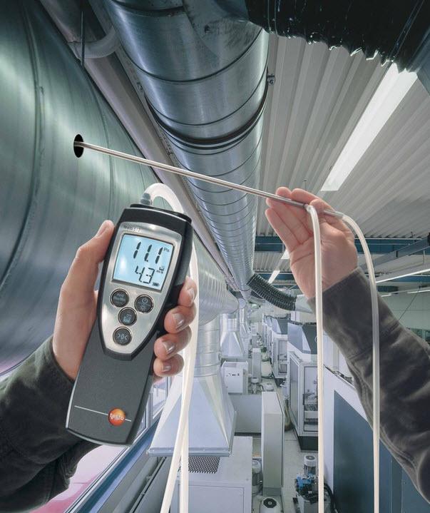Тестированиие вентиляционной системы