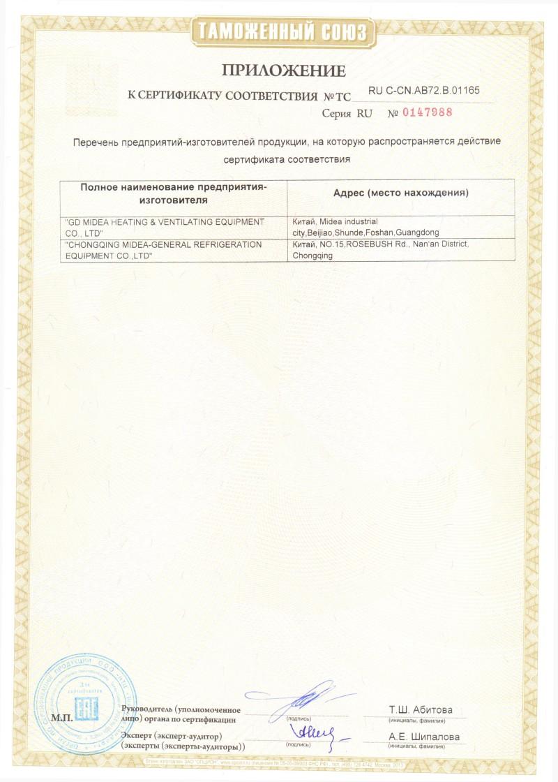сертификат Lessar - 3